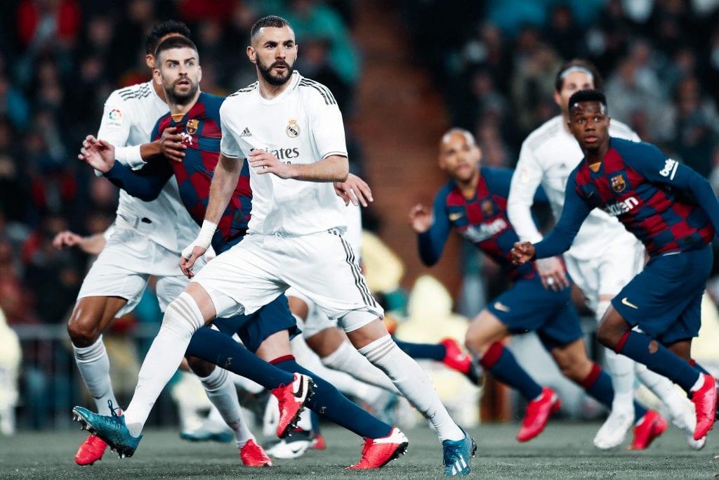 Gerard Piqué Barça Karim Benzema Real Madrid La Liga chances