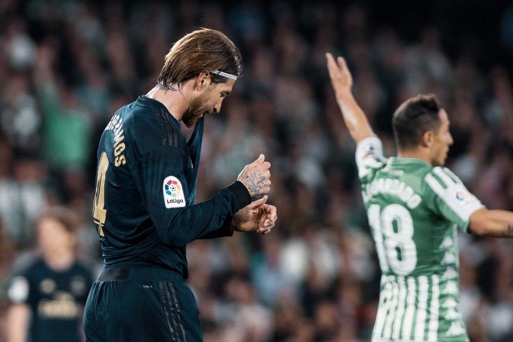 Sergio Ramos Real Madrid Barça La Liga