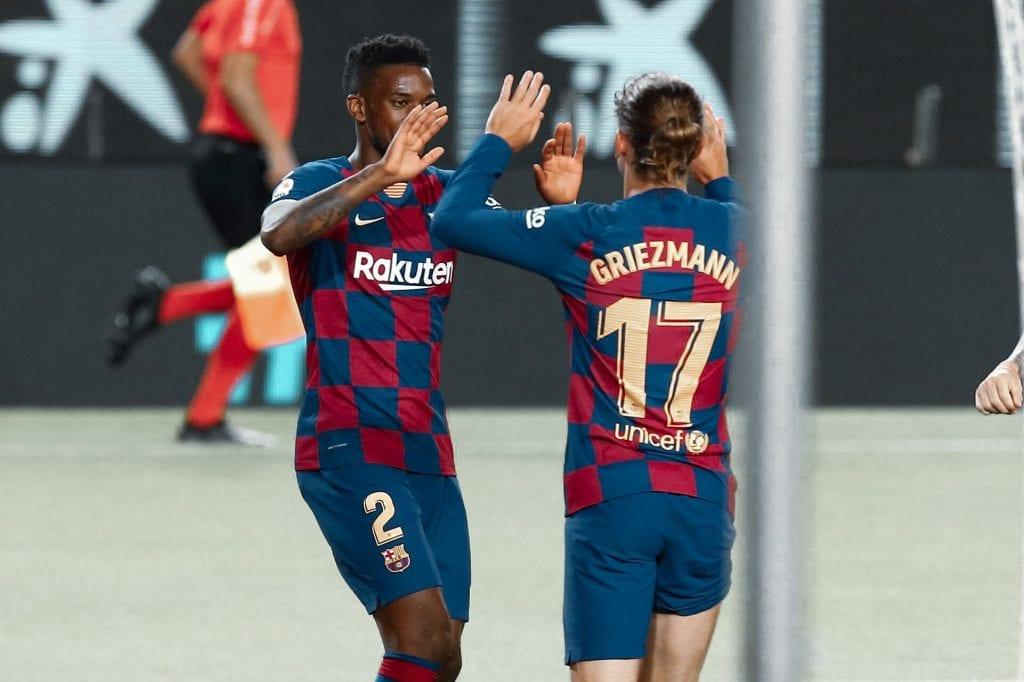 Nélson Semedo Antoine Griezmann Barcelona formations
