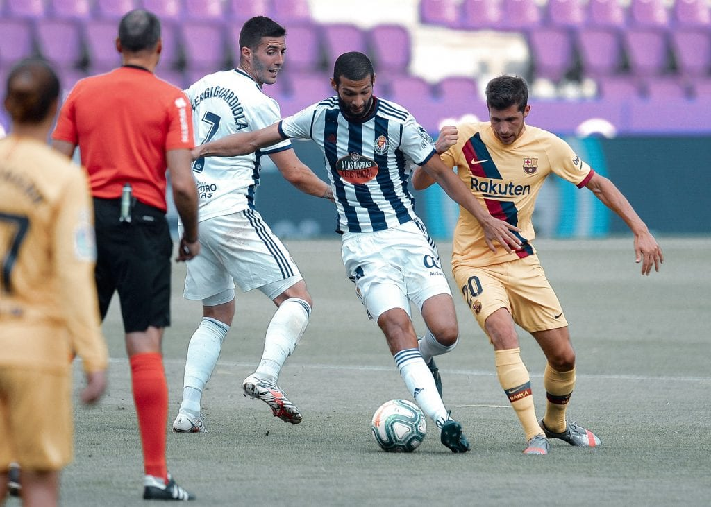 Sergi Roberto Barcelona Valladolid player ratings