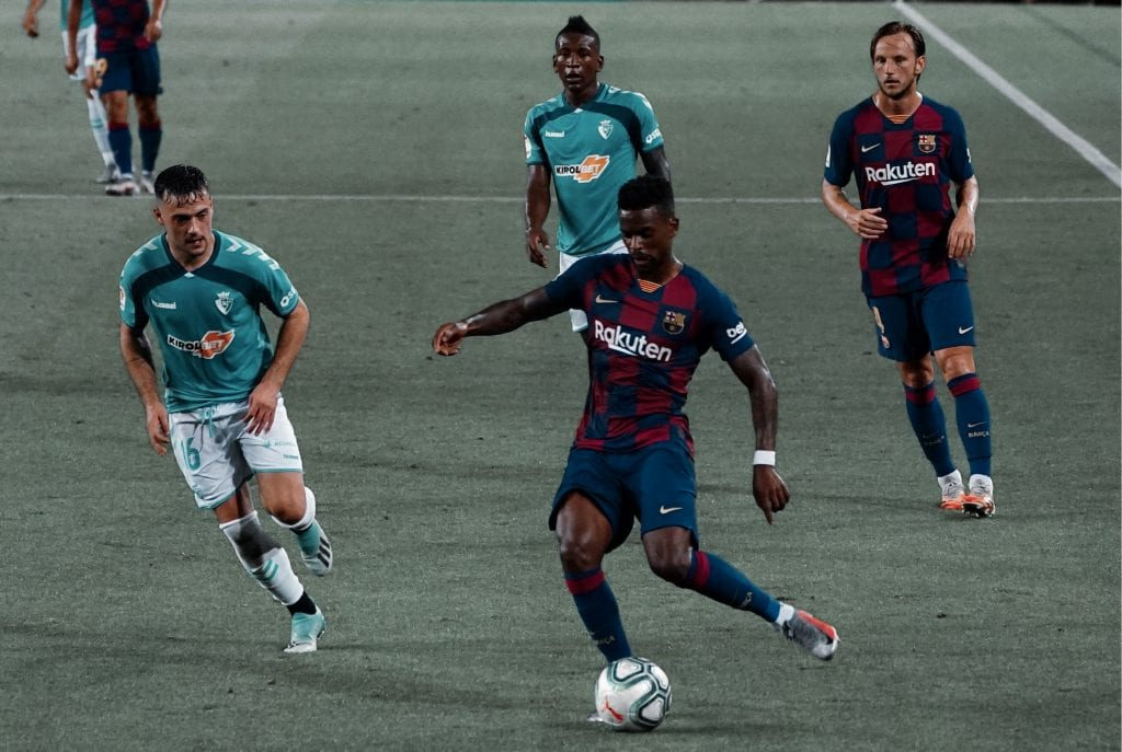 Nélson Semedo Barcelona Osasuna player ratings