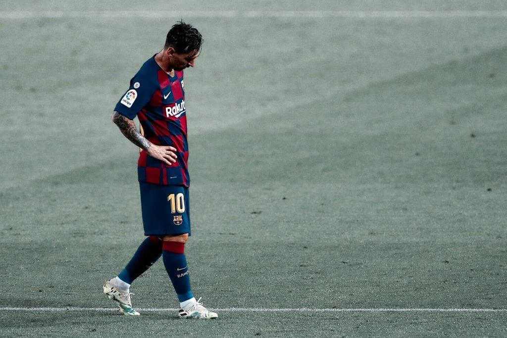 Lionel Messi Barça Real Madrid La Liga