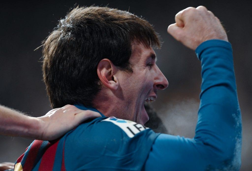 Lionel Messi Barcelona Pichichi