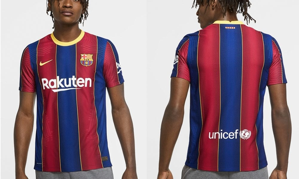 Official Barcelona Home Kit 2020 2021 Released Barca Universal