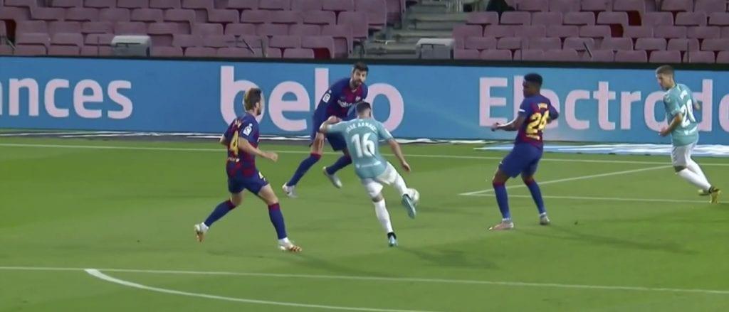 Barcelona Osasuna goals José Arnaiz