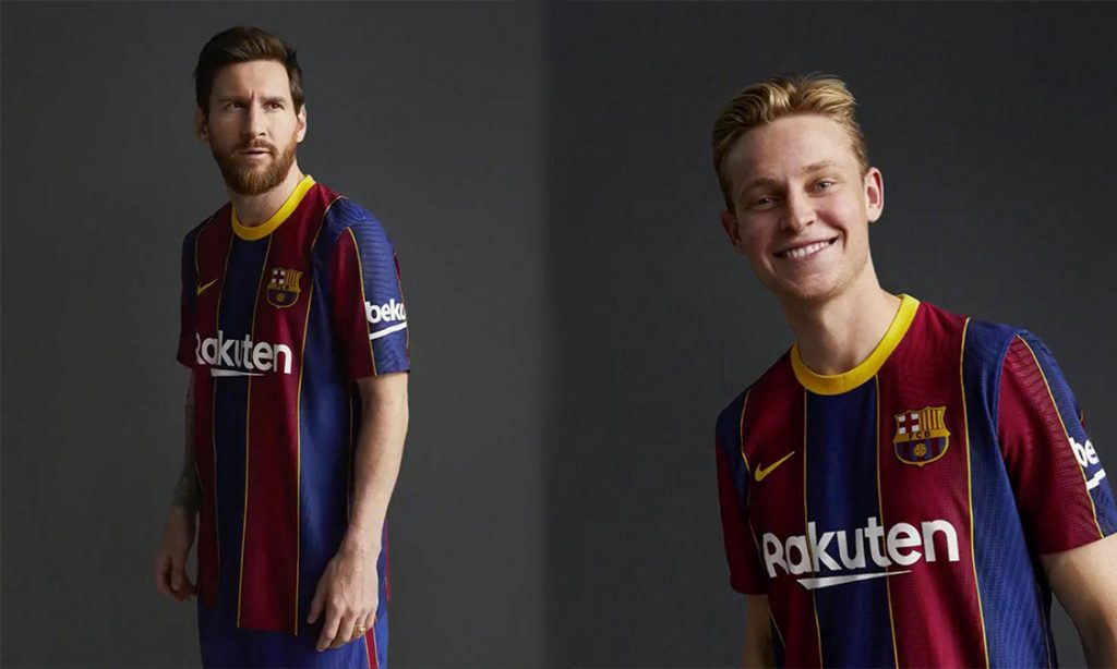 Official Barca S 2020 21 Home Kit Is Out Barca Universal
