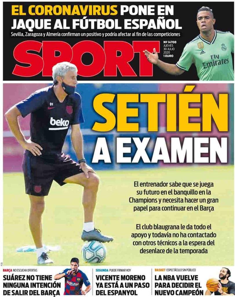 Sport Cover Setien