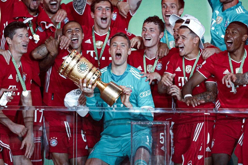 Manuel Neuer Bayern Munich Barça Champions League draw