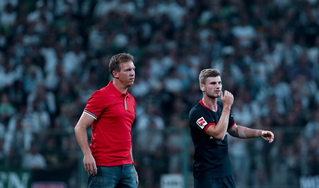 Julian Nagelsmann Timo Werner RB Leipzig Champions League