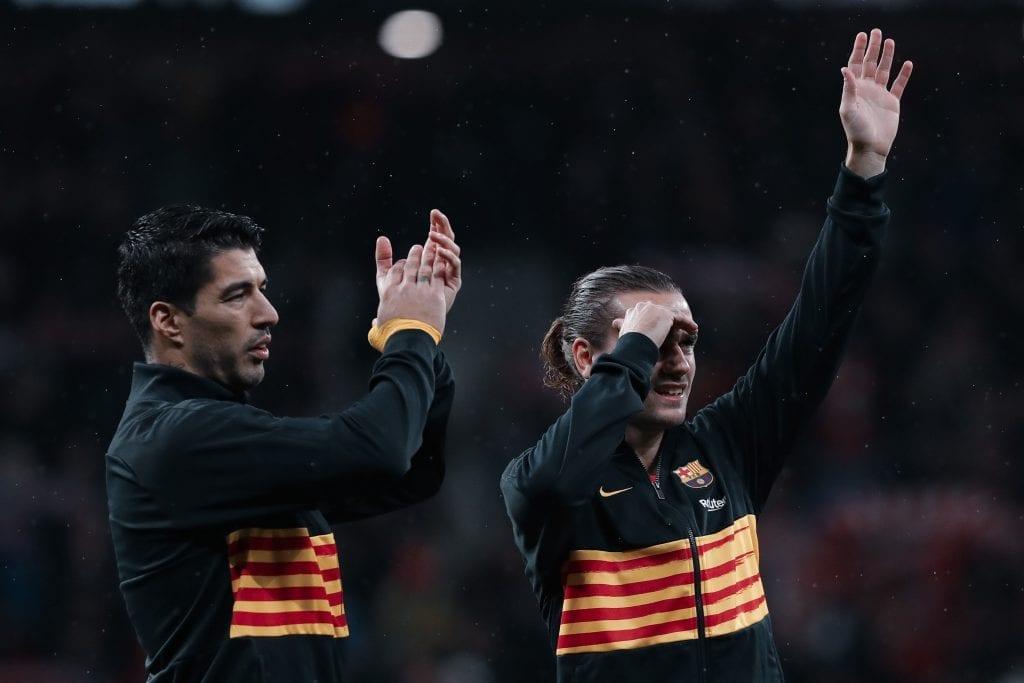 Luis Suárez Antoine Griezmann Barcelona negatives positives