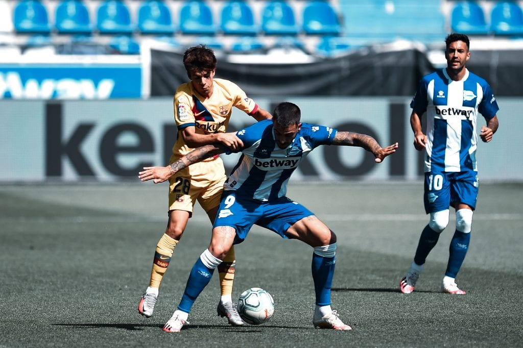 Riqui Puig Deportivo Alavés Barcelona tactical analysis