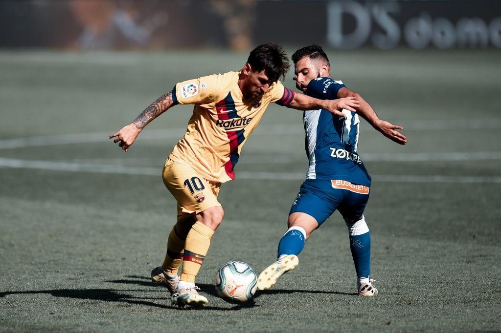 Lionel Messi Barcelona Alavés player ratings