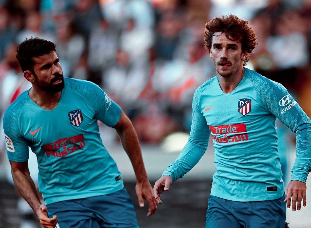 Antoine Griezmann Diego Costa Atlético de Madrid Barcelona MSG Quique Setién