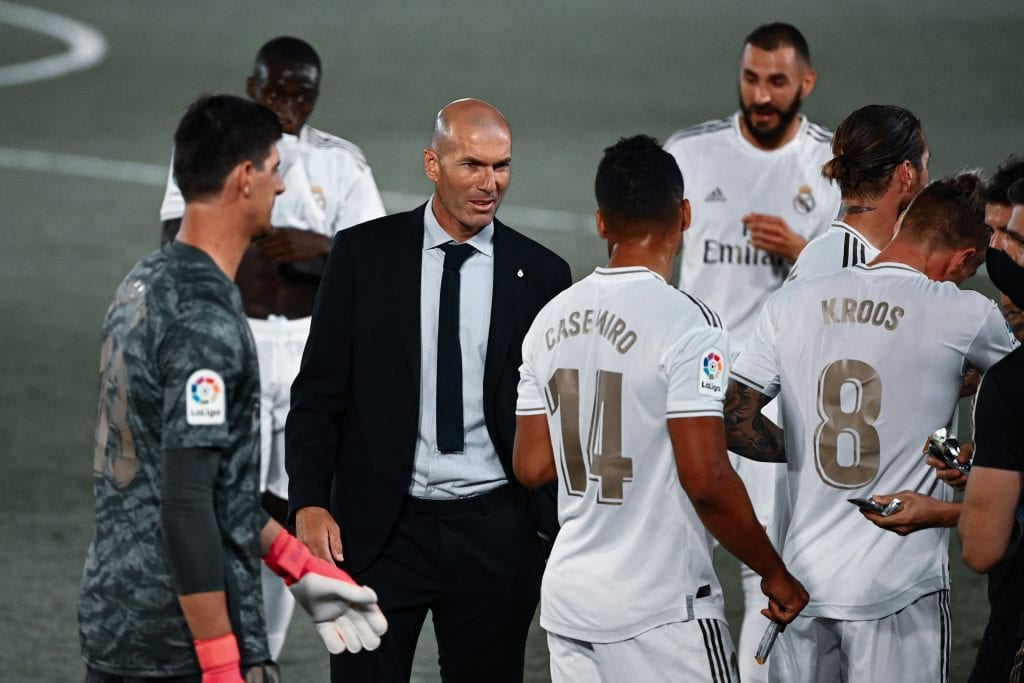Zinedine Zidane Real Madrid Barça La Liga chances