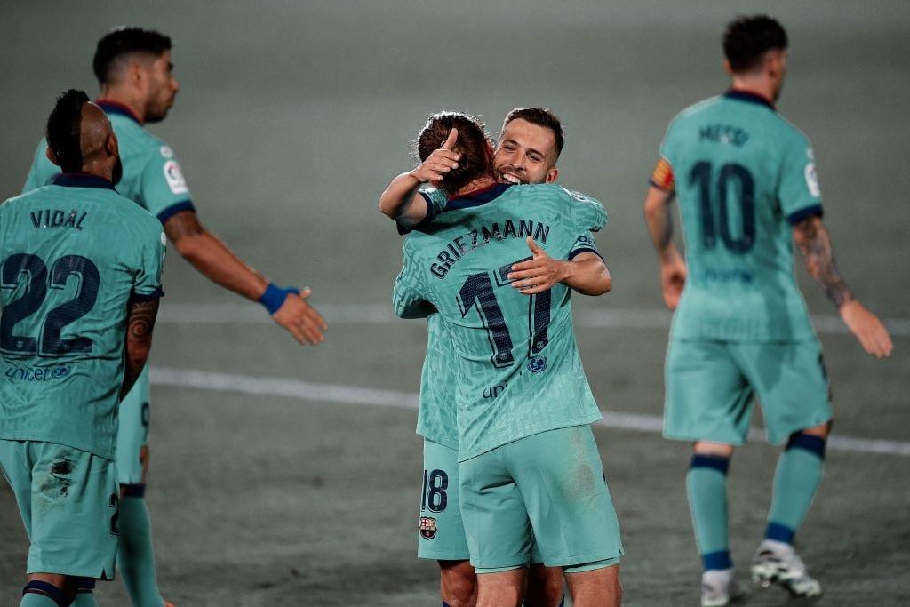 Antoine Griezmann Barcelona Villarreal