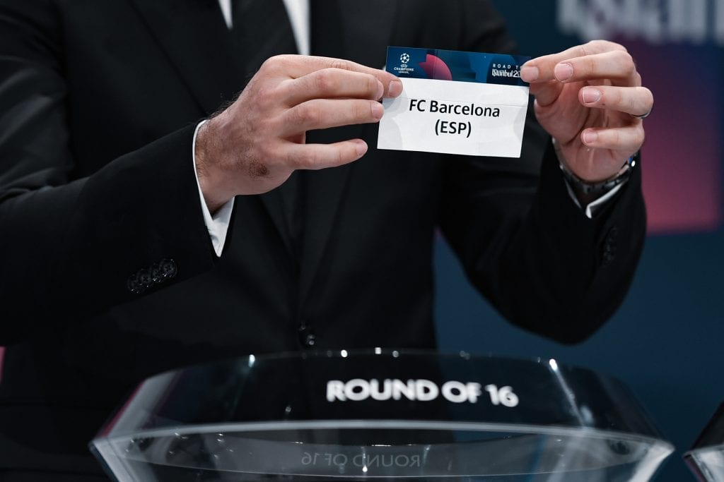 Barça Champions League draw