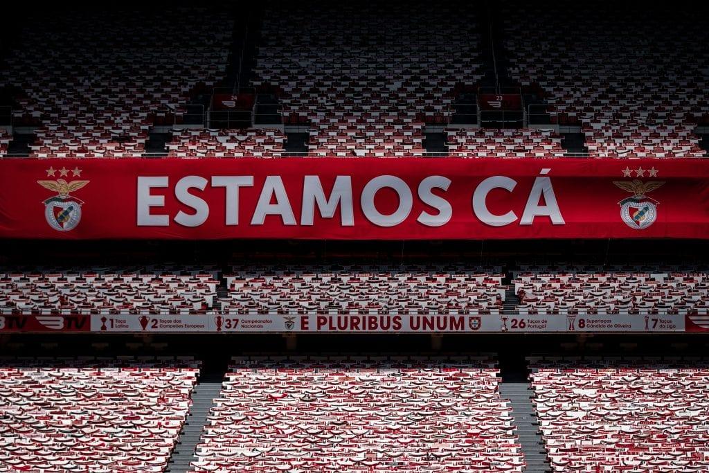SL Benfica Estádio da Luz Champions League return