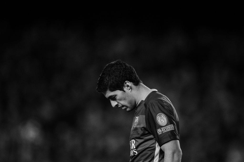 Luis Suárez Barcelona decline