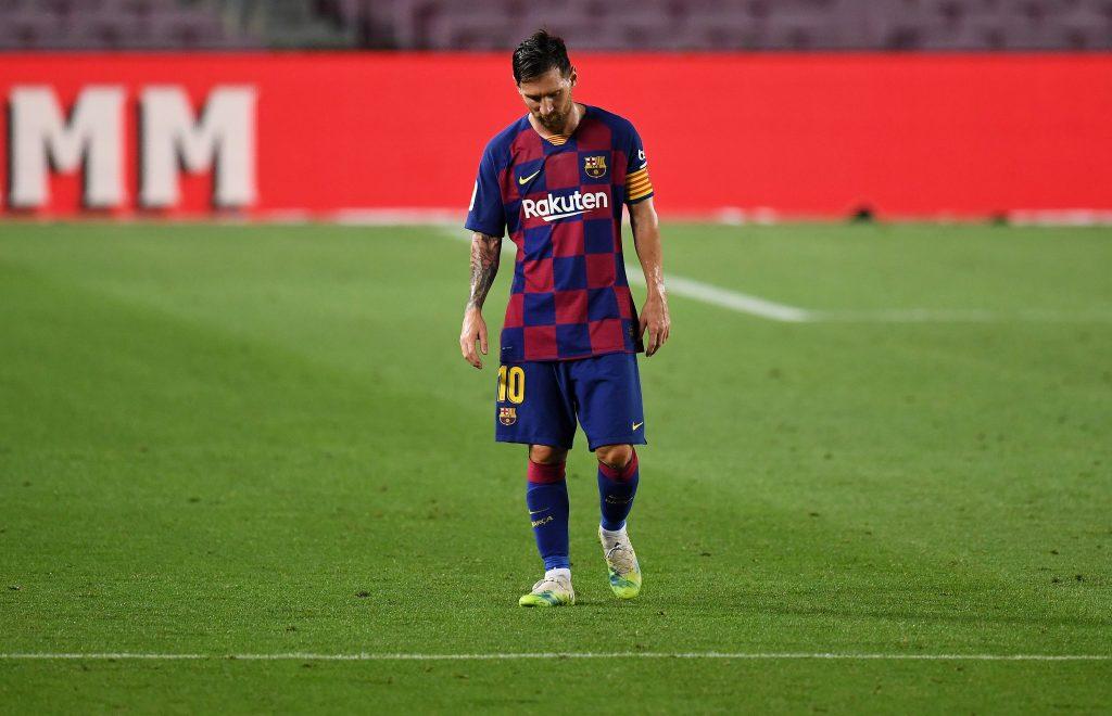 Lionel Messi Speaks After Barcelona Loses La Liga To Madrid Barca Universal