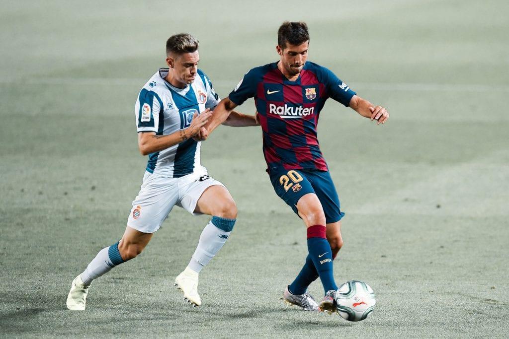 Sergi Roberto Barcelona Espanyol player ratings
