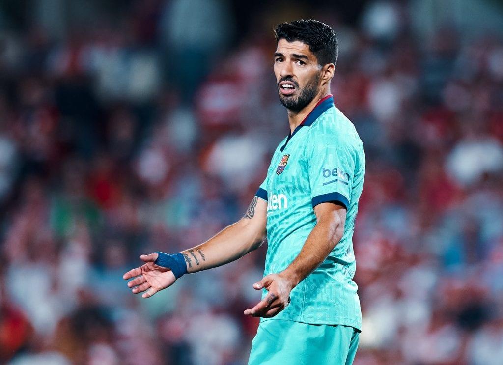 Luis Suárez Barcelona season