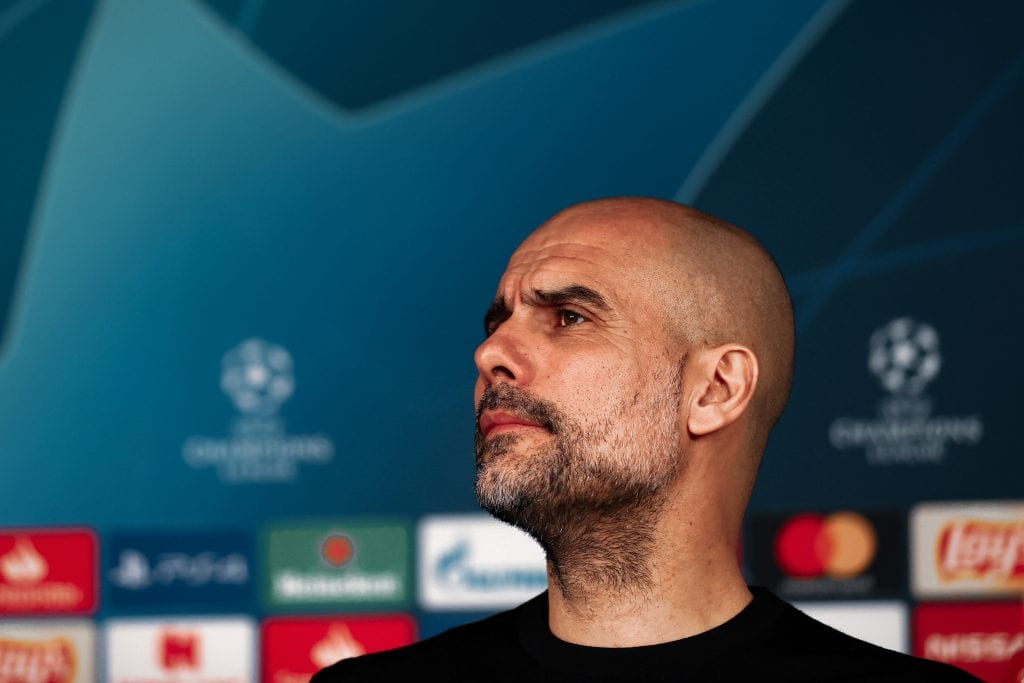 Pep Guardiola Manchester City Barça Champions League draw