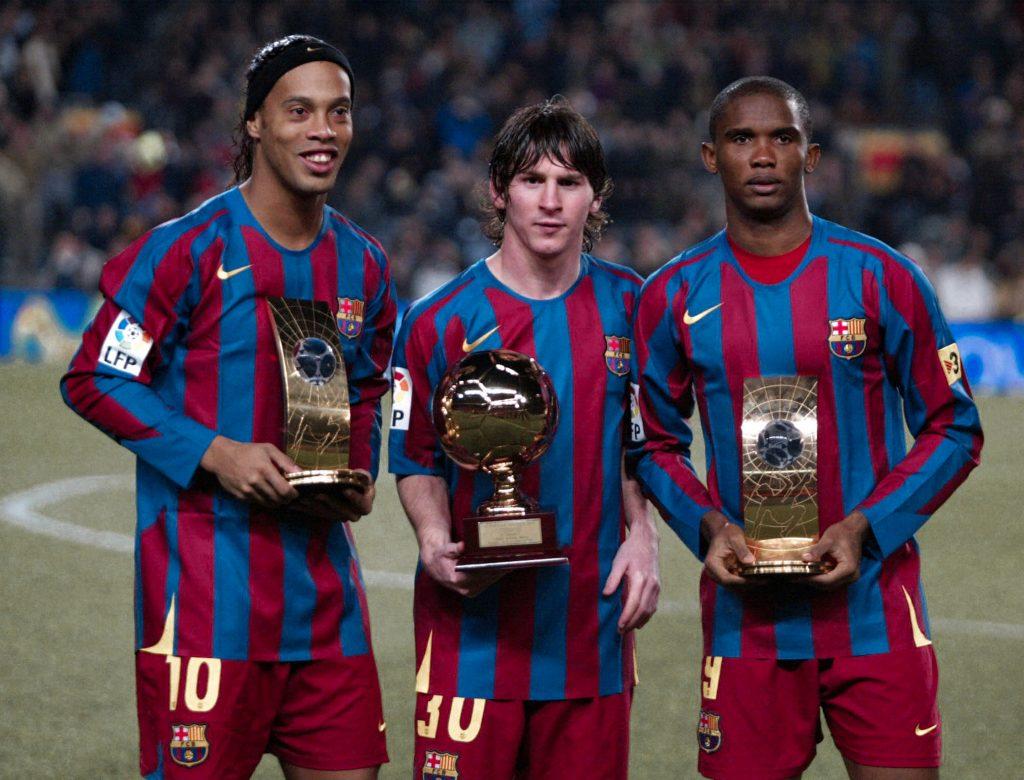 Messi Ronaldinho Eto