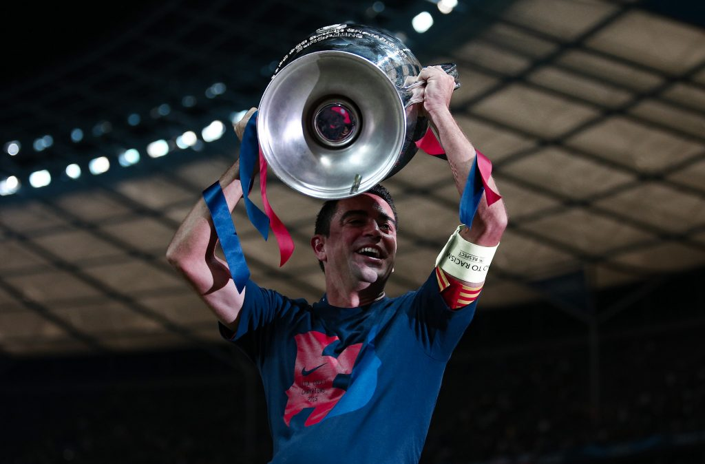 xavi champions league