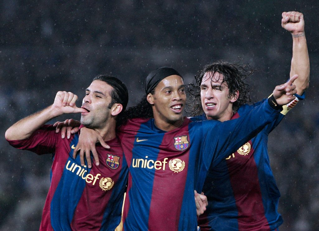 Ronaldinho Puyol