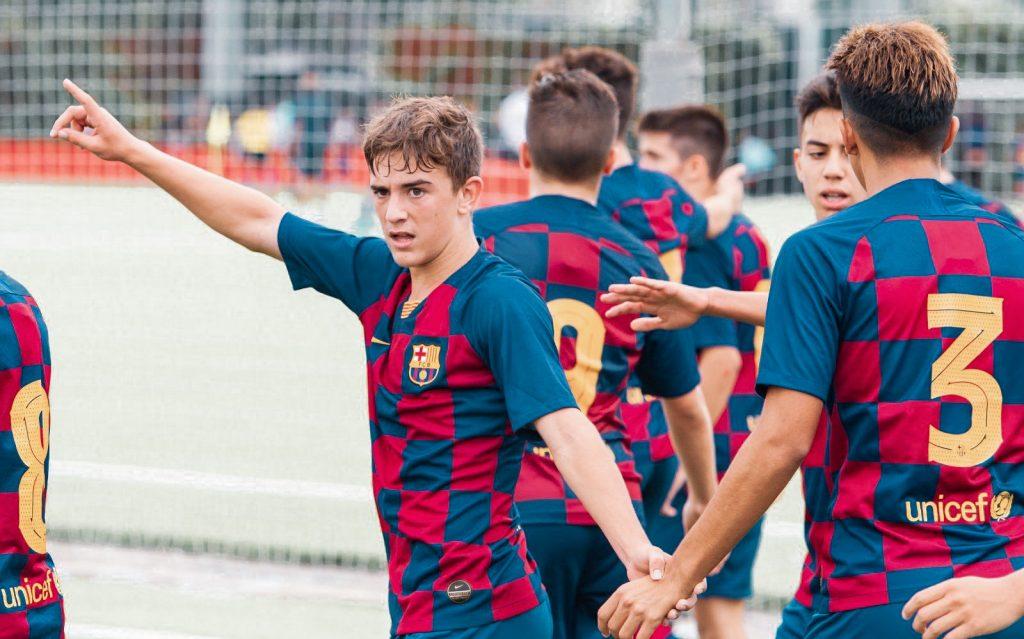 Pablo Páez Gavi Barcelona La Masía