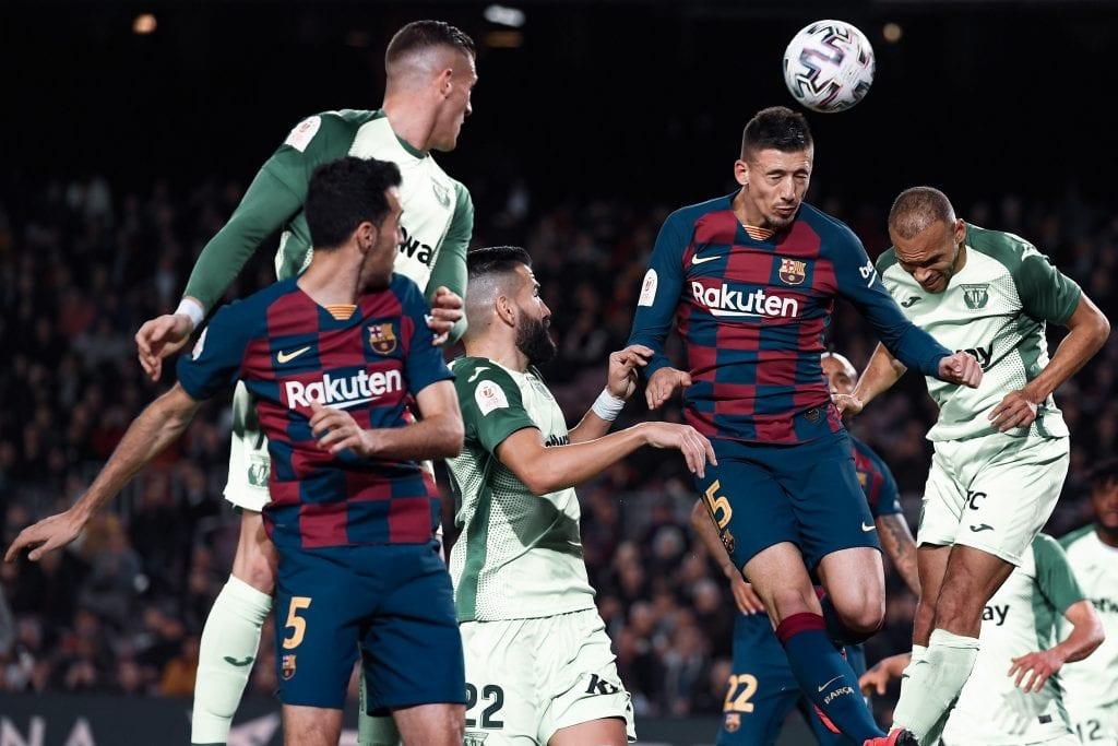 Clément Lenglet Barcelona 19/20 season