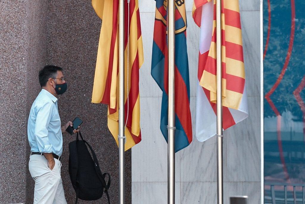 Josep Maria Bartomeu Messi leave reasons