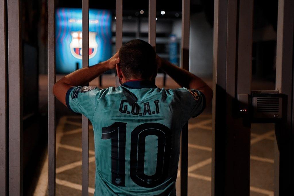 Lionel Messi Barcelona burofax