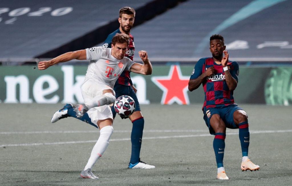 Nélson Semedo Leon Goretzka Barça Bayern Munich departures 20/21 season