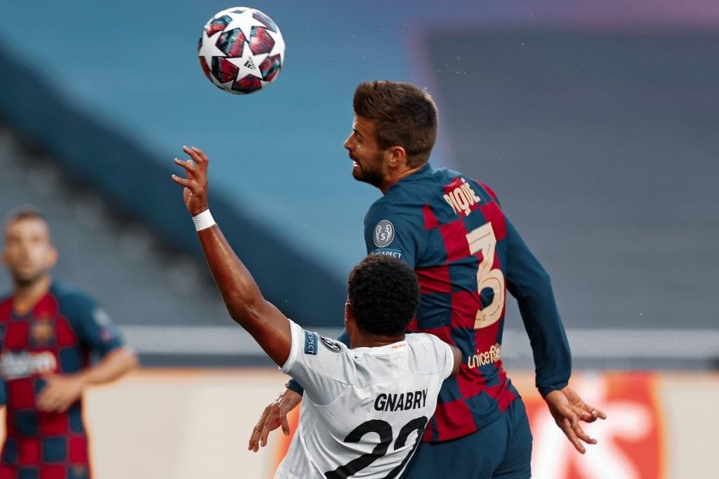 Gerard Piqué Barcelona 19/20 season