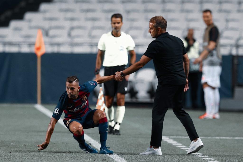 Jordi Alba Hans-Dieter Flick Barça Bayern Munich transfer priorities