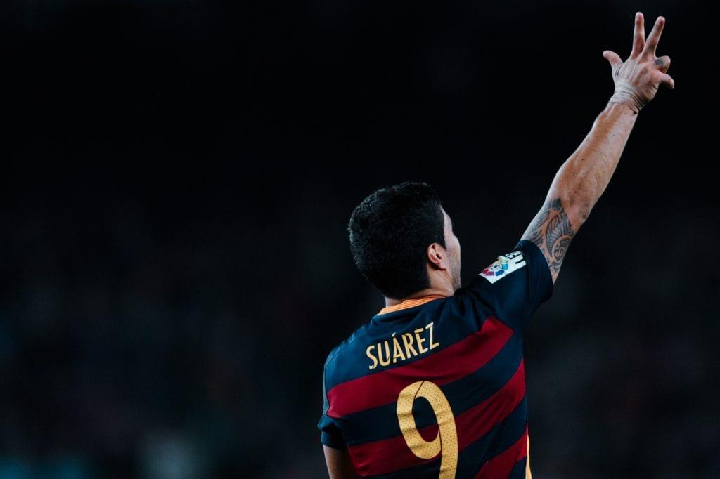 Luis Suárez Barcelona Ajax