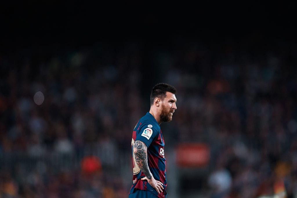 Lionel Messi Barcelona Eric García Bernardo Silva Gabriel Jesus Manchester City