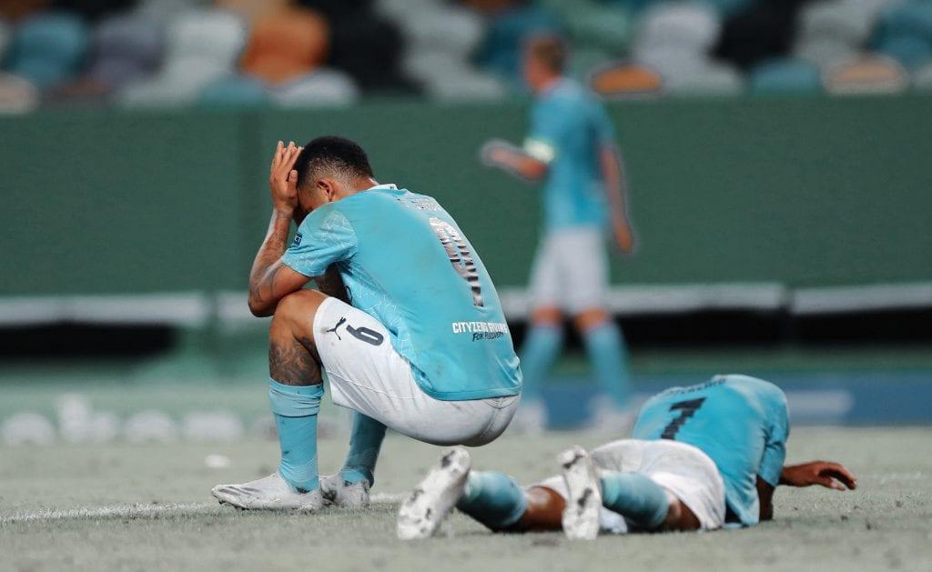 Gabriel Jesus Pep Guardiola Manchester City Barça managerial situation