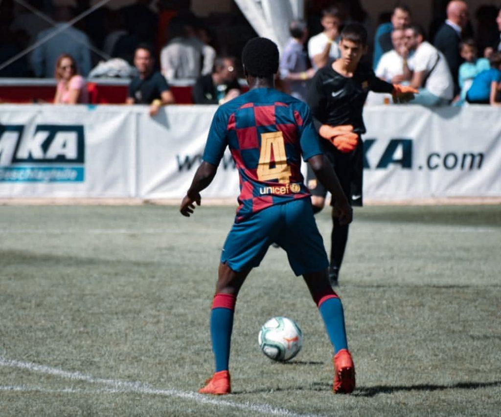 Landry Farré Barcelona La Masía