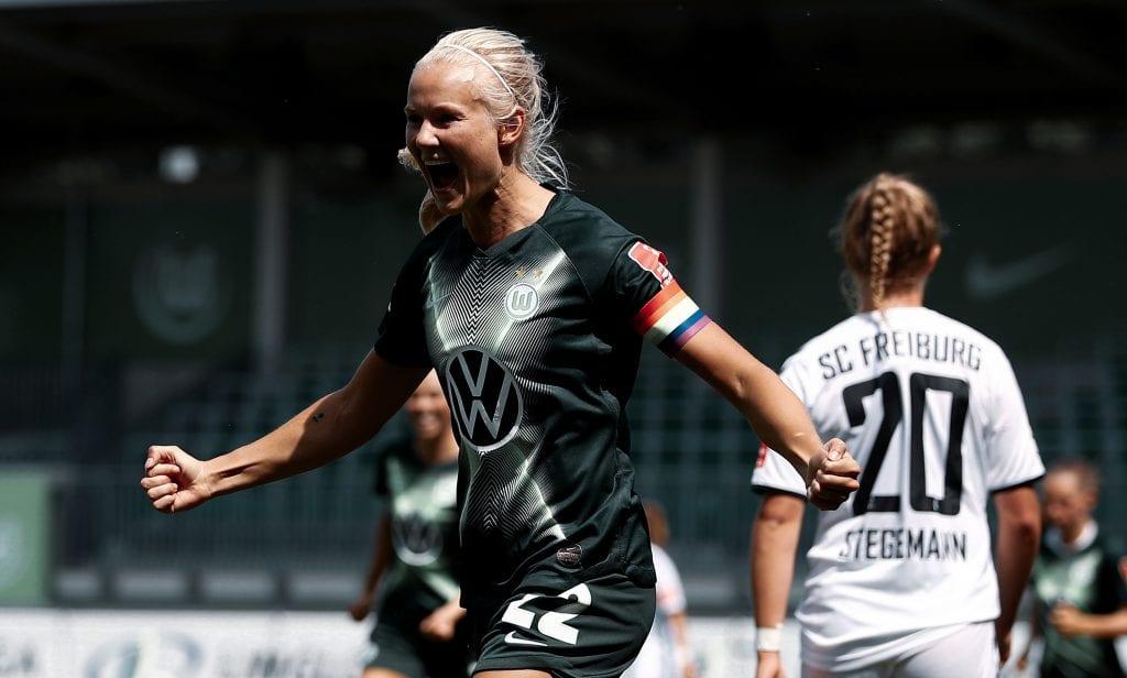 Pernille Harder Wolfsburg win 2020 Women's Champions League