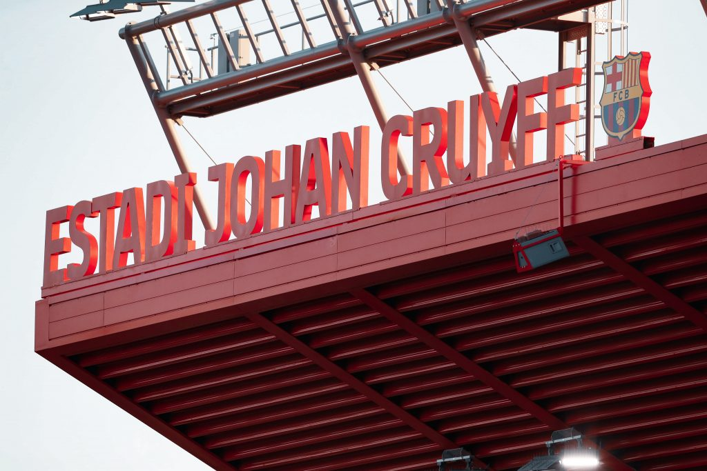 Estadi Johan Cruyff Maria Teixidor Barça Femení