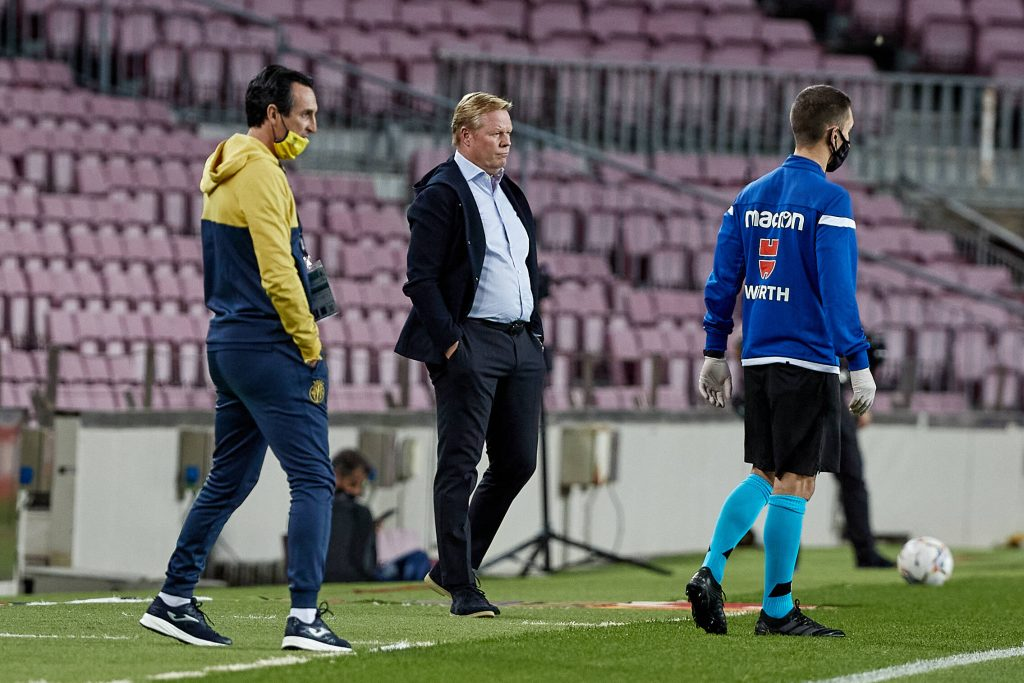 Koeman Barcelona Villarreal Takeaways
