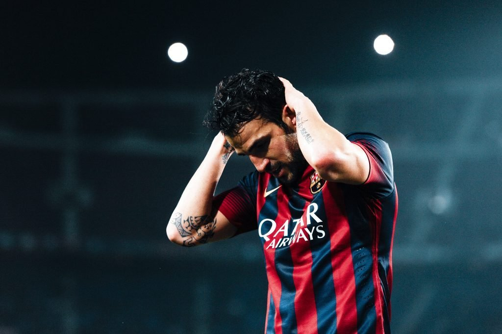 Cesc Fàbregas Barcelona midfield Koeman