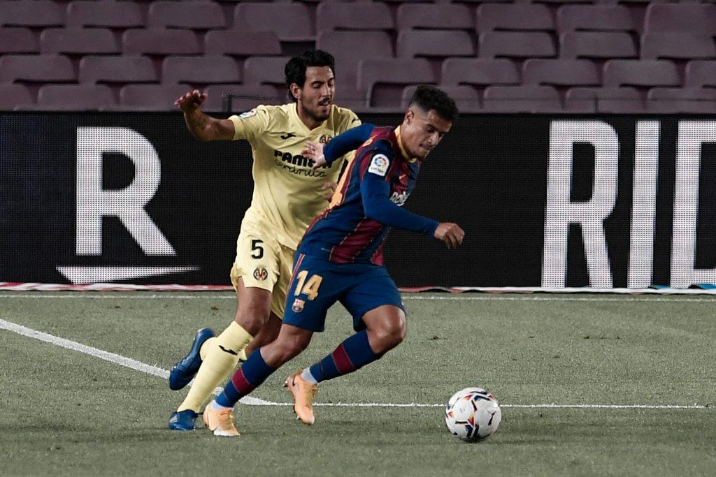 Coutinho Barcelona Villarreal