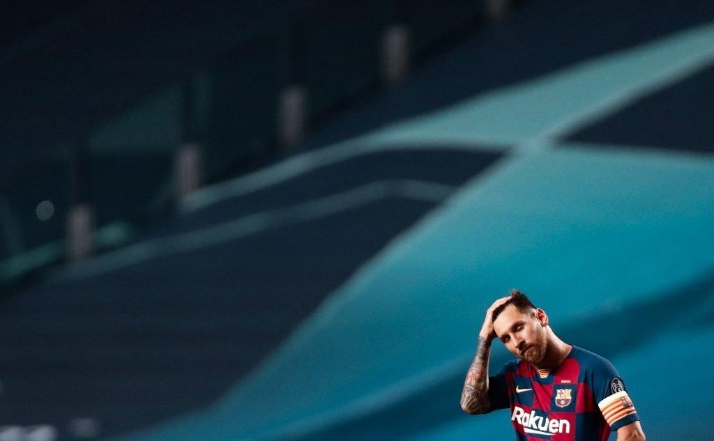 Lionel Messi Barcelona 19/20 season