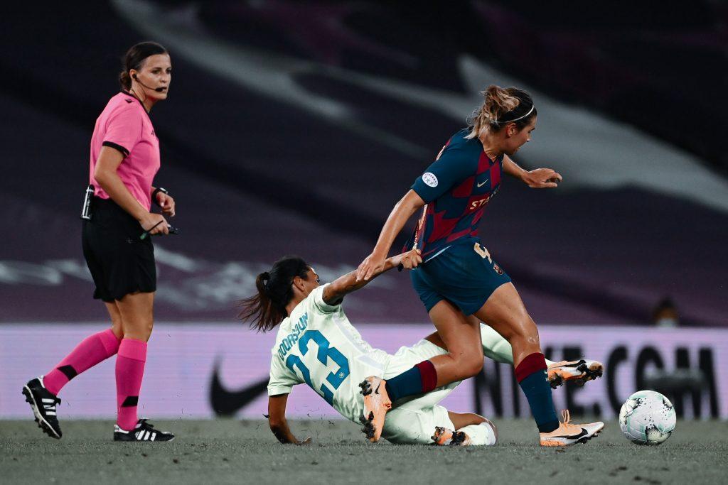 Mariona Caldentey Wolfsburg 1–0 Barça Femení