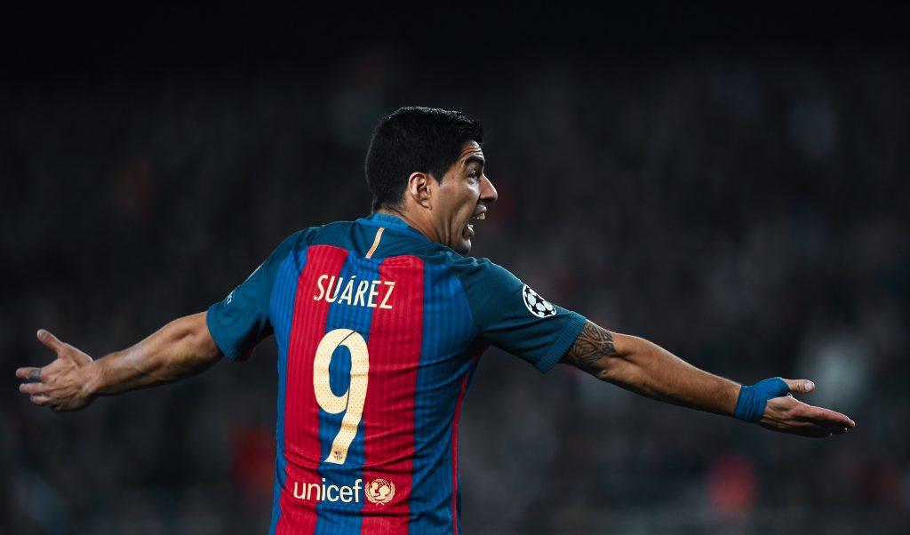 Luis Suárez Barcelona legend