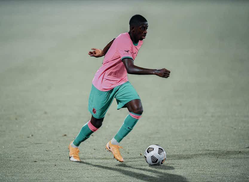 Ousmane Dembélé 2020/21 season Barcelona