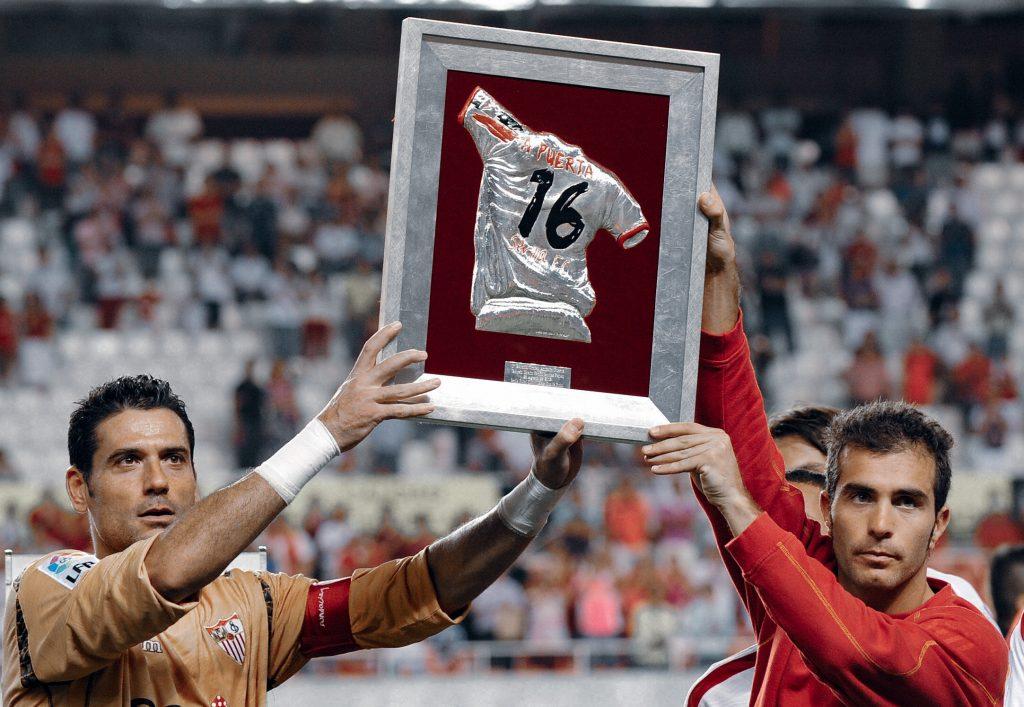 Antonio Puerta 16 Sevilla Barcelona retire number 10 Lionel Messi